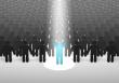 Person-in-spotlight-xl