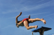 Swimmer-strarting-race