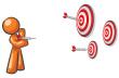 Orange-man-target-master