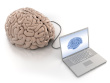 Computer-laptop-connected-to-brain-clipping-path