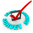 Survey-check-box-and-mark